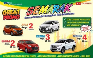 Promo Daihatsu Berkah Ramadhan